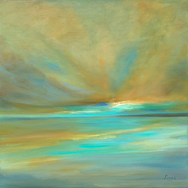 Amber Clouds Art | SHEILA FINCH FINE ART