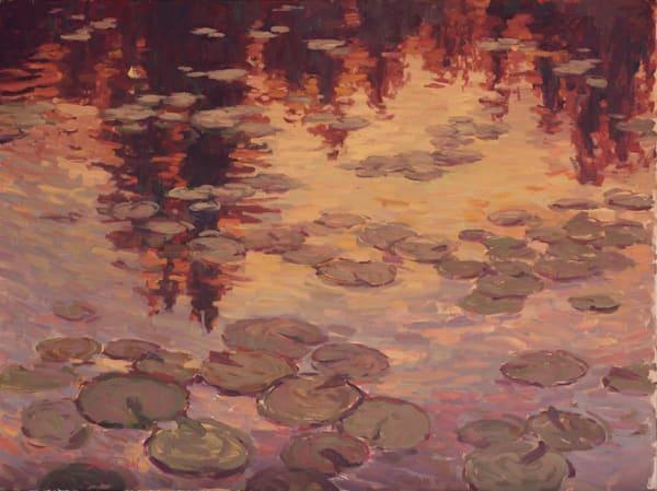 Pond Of Twilight Art | Diehl Fine Art