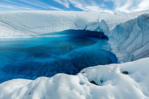 Blue Pool Fall