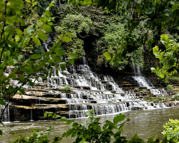 Twin Falls 1 Photography Art | N2 the Woods Photography - Nature and Wildlife Artwork