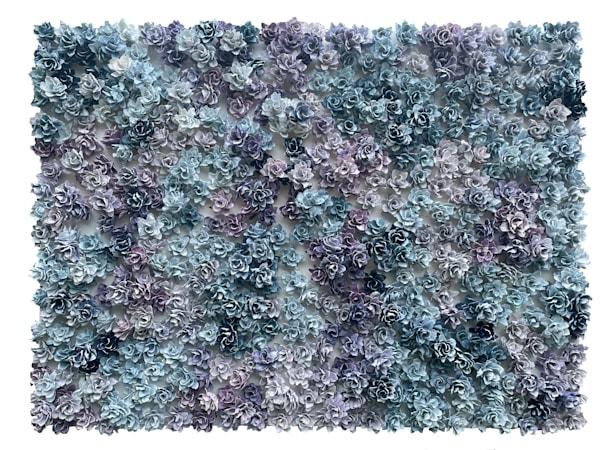 Garden Bonanza   Purpurite And Apatite 2 Art | Lauren Naomi Fine Art