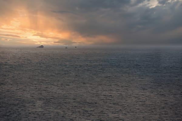 Twilight Trawlers Photography Art | Kathleen Messmer Photography