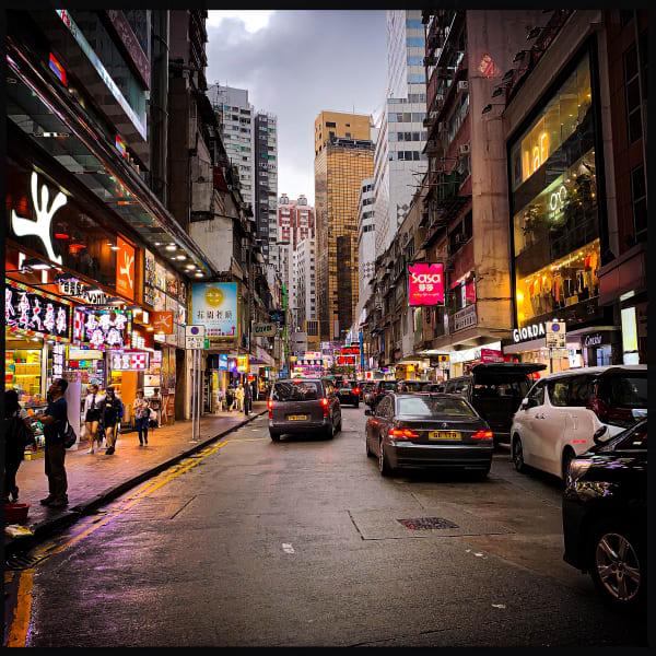 Rainy Street Photography Art   nathanmurray