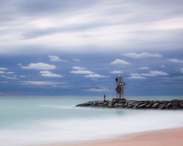 Inlet Fisherman Award Winning Limited Edition Photography Art | Silver Sun Photography