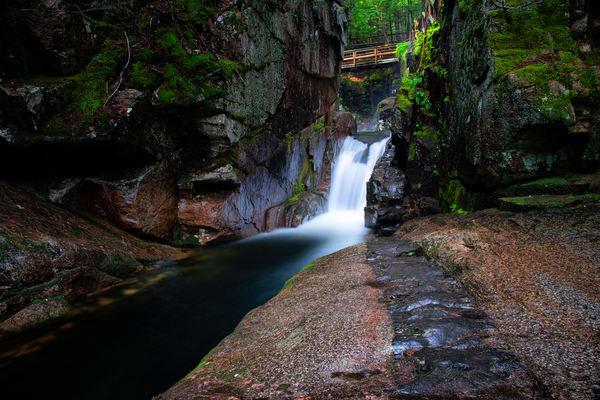 Below Sabbaday Falls - Kancamagus Highway fine-art photography prints