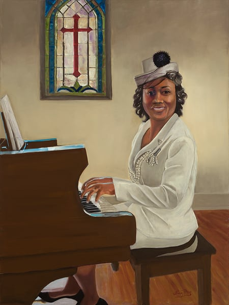 """The Church Pianist"" Art | Digital Arts Studio / Fine Art Marketplace"