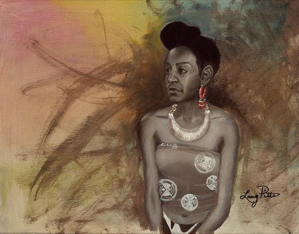 """The Red Earring"" Art | Digital Arts Studio / Fine Art Marketplace"