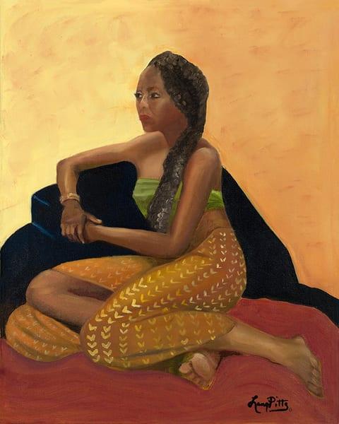 """The Girl In The Black Chair"" Art | Digital Arts Studio / Fine Art Marketplace"