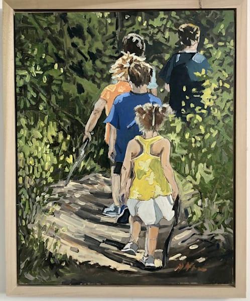 Walk In The Woods Art | mwarrenstudio