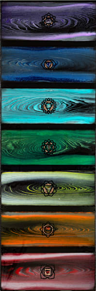 Dark Chakra Art   Breathe Art Paintings