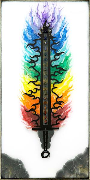 Chakra Sword Art | Breathe Art Paintings