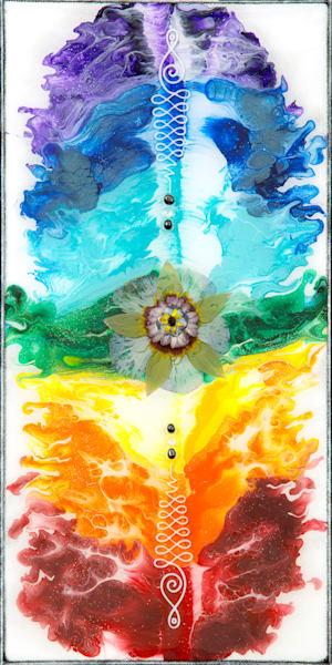 Unalome Chakra Art   Breathe Art Paintings