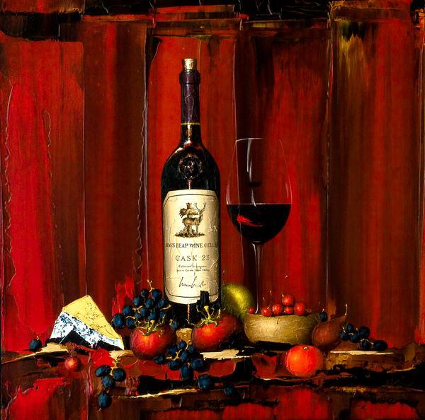Into Reds   Fine Art Print Art | Thomas Easley Art