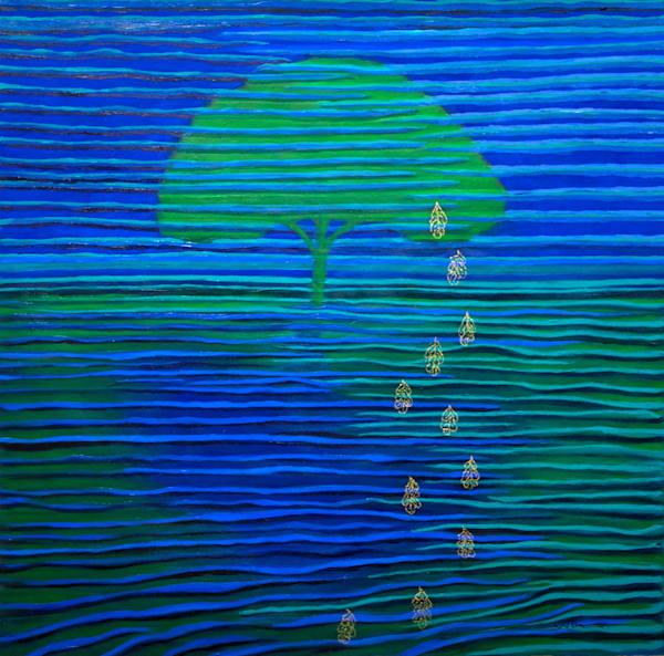 Life Of A Tree: Memory Of Leaves Art | Norlynne Coar Fine Art