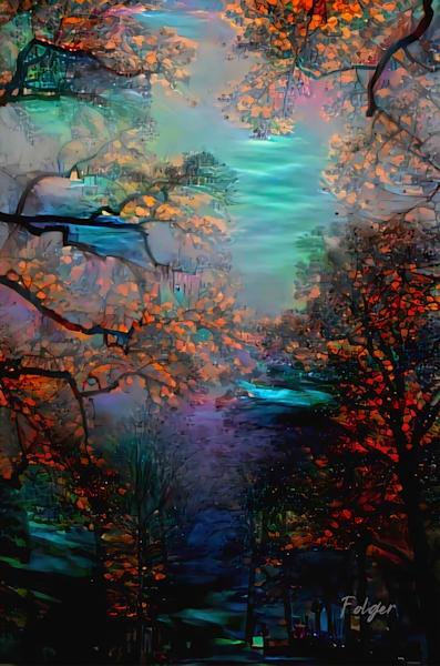 Autumn Eve Art | Jacob Folger Artist