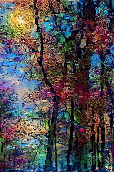 Autumn Afternoon Art | Jacob Folger Artist