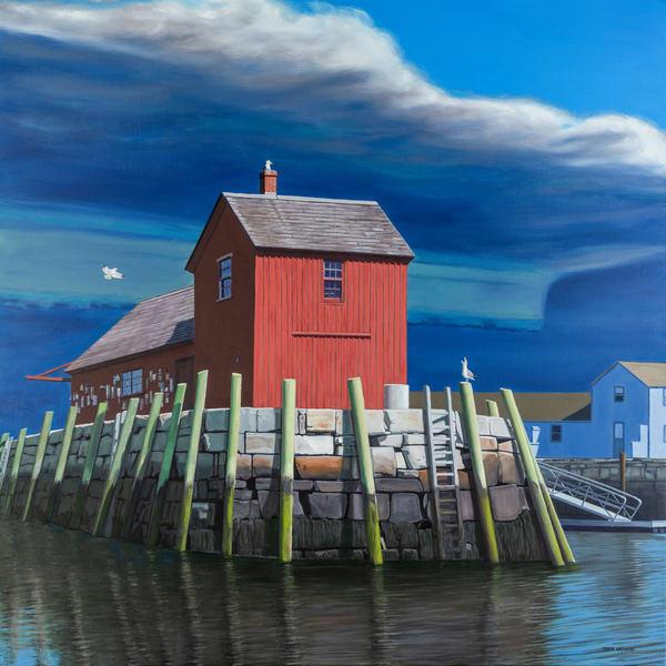 Approaching Storm Art | The Art of David Arsenault