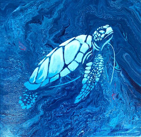 Deep Blue Sea Photography Art | Silver Sun Photography