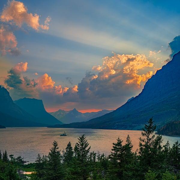 Gnp St Mary Lake Photography Art | John Martell Photography