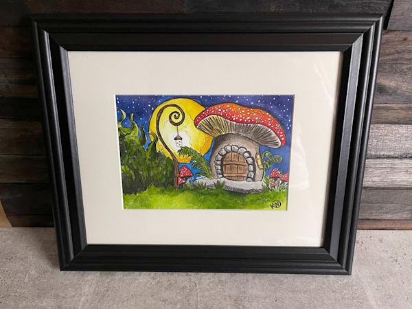 Fairy Mushroom House 2 Art | Water+Ink Studios