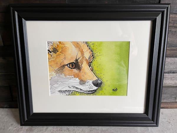 Foxy Face Art   Water+Ink Studios