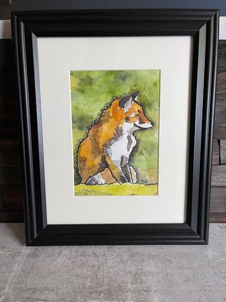 Chubby Fox Art | Water+Ink Studios
