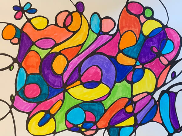 Neurogenic Art 3 Art   Marci Brockmann Author, Artist, Podcaster & Educator
