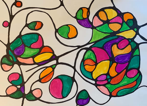 Neurogenic Art 5 Art   Marci Brockmann Author, Artist, Podcaster & Educator