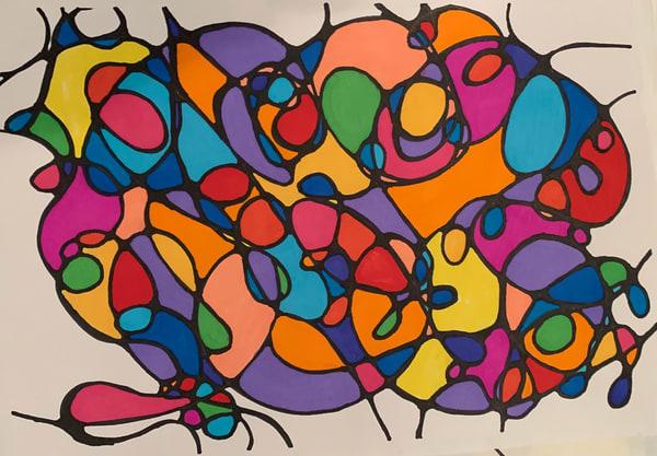 Neurogenic Art 6 Art   Marci Brockmann Author, Artist, Podcaster & Educator