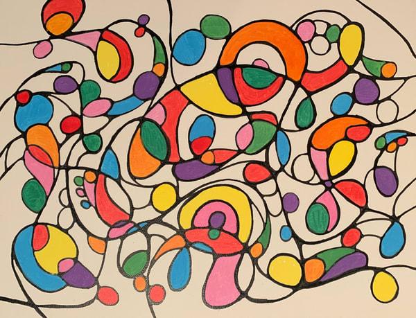 Neurogenic Art 7 Art   Marci Brockmann Author, Artist, Podcaster & Educator