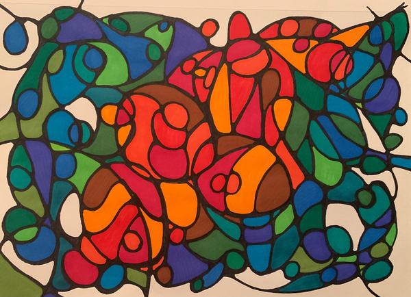 Neurogenic Art 9 Art   Marci Brockmann Author, Artist, Podcaster & Educator