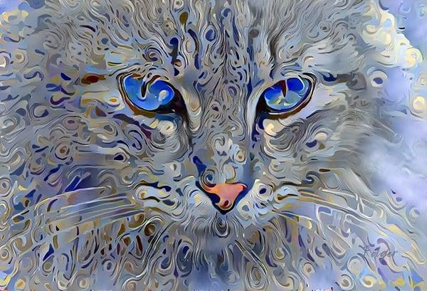 Filigrees Cat Art | Jacob Folger Artist