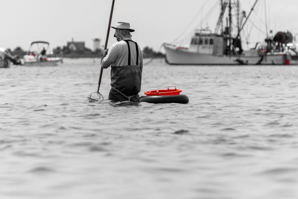 Stage Harbor Quahogger Photography Art | The Colors of Chatham