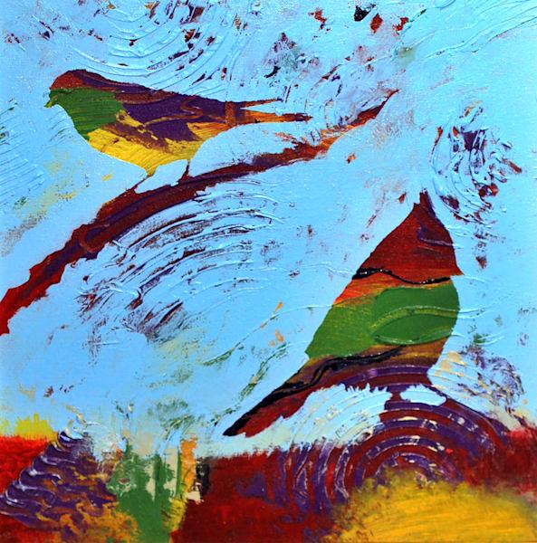2.Birds.Branch.Lg Art | V Creative Studio