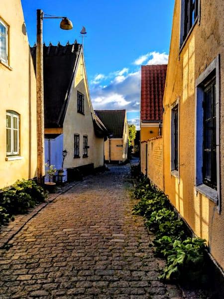 Down A Quiet Danish Lane, Number One Photography Art | Photoissimo - Fine Art Photography