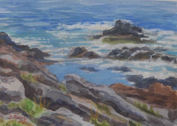 Along The Edge Art | Sharon Guy