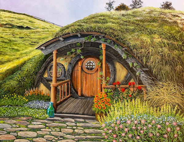 Hobbit House 3 Art | Skip Marsh Art