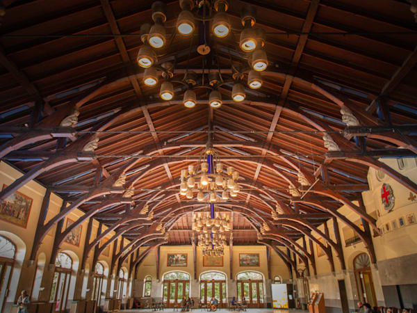Ceiling of the Mount-Royal Chalet
