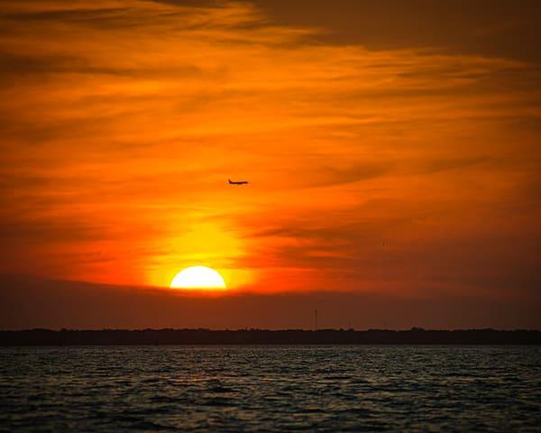 Sunset Flight Photography Art | It's Your World - Enjoy!