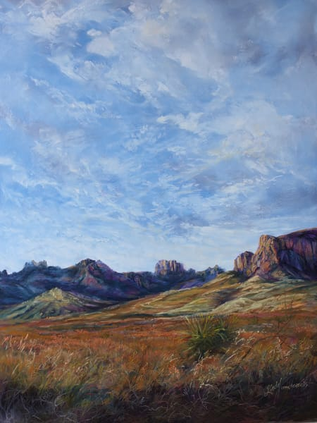 Lindy Cook Severns Art | A Tapestry of Sky and Grass, print