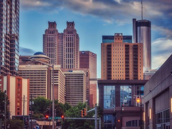 Atlanta Downtown | Susan J Photography