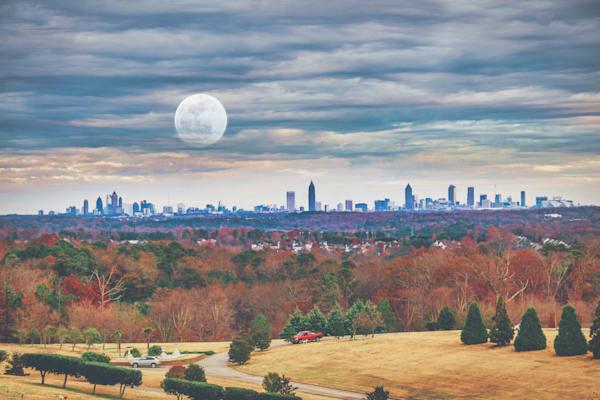 City Moon | Susan J Photography, LLC
