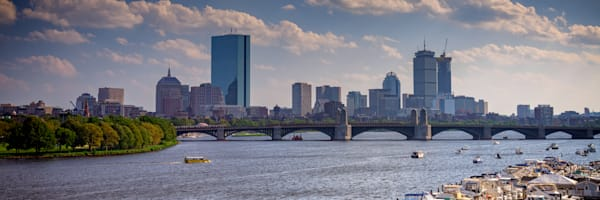 Summer Day on the Charles Panorama   Shop Photography by Rick Berk