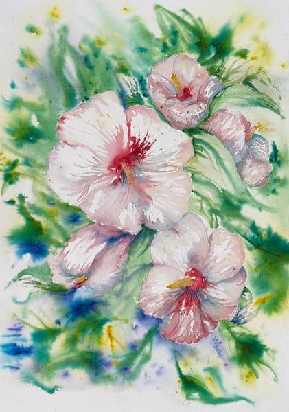 Hibiscus Art   Color Splash Ranch