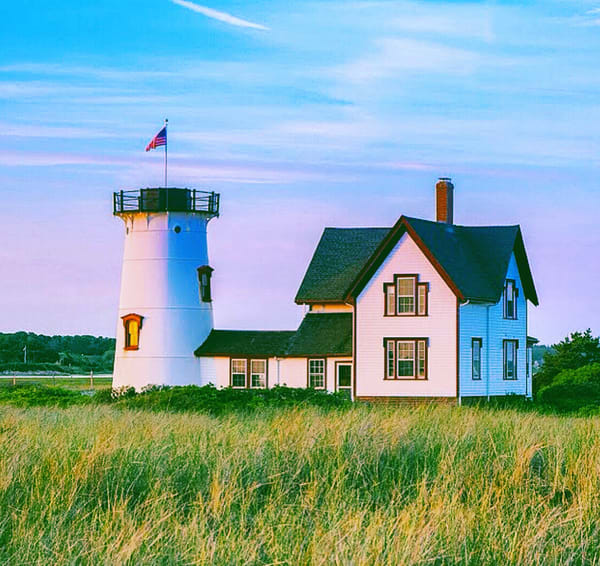 Stage Harbor Light   Chatham Ma Photography Art | The Colors of Chatham