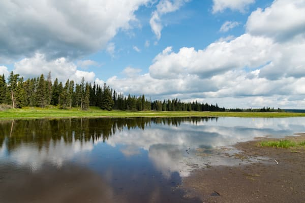 Whirlpool Lake reflections, Riding Mountain National Park