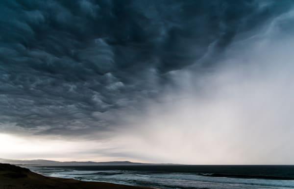 Dark and moody, Monterey storm
