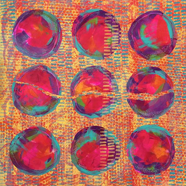 Circle Opulence - Original Abstract Painting | Cynthia Coldren Fine Art