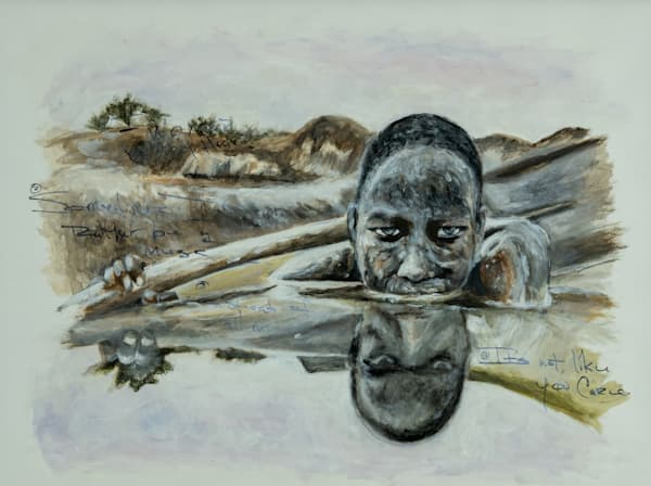 Out Of The Mud Art | Blac Rhino Art Group