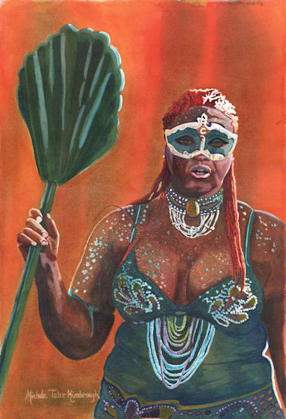 10. Queen Adella   Crucian Carnival Series X Art   Michele Tabor Kimbrough